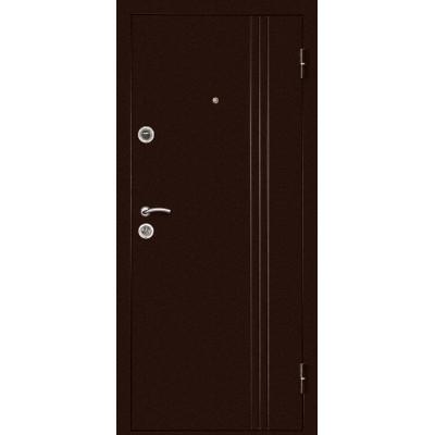 Входная дверь Дверной континент ЭКСТРА Темный Орех