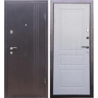 Входная дверь Дверной континент ТУРИН (беленый дуб)