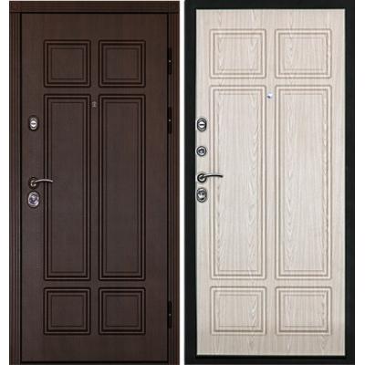 Входная дверь Дверной континент КОНСУЛ В Дуб белёный