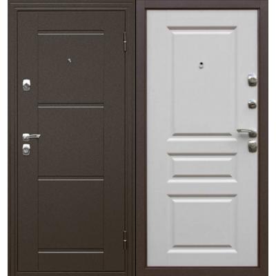 Входная дверь Дверной континент Эстет белый матовый
