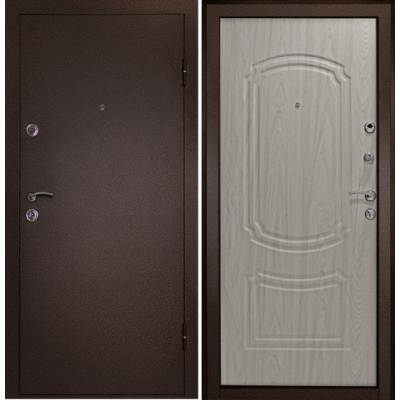 Входная дверь Дверной континент Фаворит бел.дуб