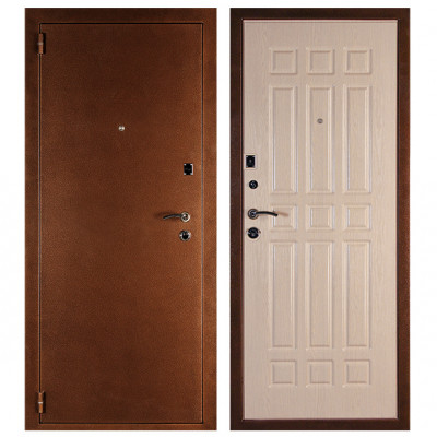 Дверь ДЕЛЬТА Белёный дуб
