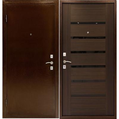 Входная дверь Дверной континент ОПТИМА С (Венге)